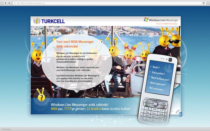 turkcell messenger