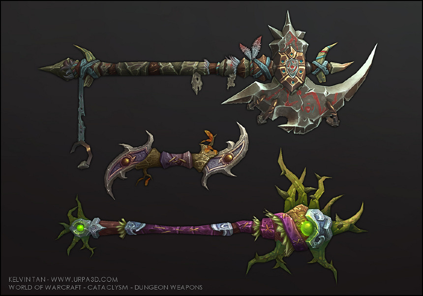 World of warcraft and fist weapon