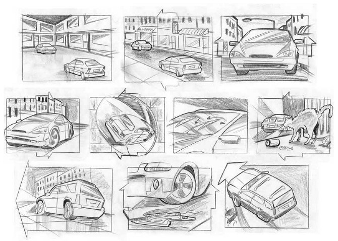 Storyboards - Dkcreative